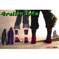 Носки для роликов Seba socs black