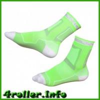 Носки для роликов Rollerclub perfomanse neon green