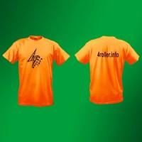 Футболка 4roller.info orange t-short