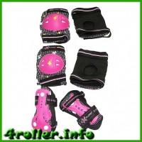 Комплект детской защиты Explorer raser pink