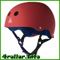 Triple Eight Brainsaver Rubber Helmet with Sweatsaver Liner united