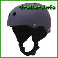 Triple Eight Rubber Snow Helmet