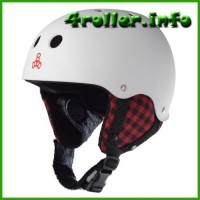 Triple Eight East Village Rubber Snow Helmet