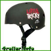 Triple Eight Little Tricky CPSC Youth Certified Helmet black