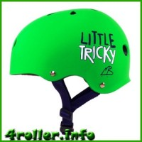 Triple Eight Little Tricky CPSC Youth Certified Helmet green