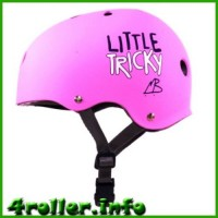 Triple Eight Little Tricky CPSC Youth Certified Helmet pink