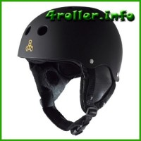 Triple Eight Uptown Rubber Snow Helmet