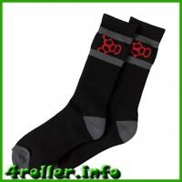 Носки для роликов Triple Eight black