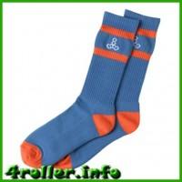 Носки для роликов Triple Eight blue/orange
