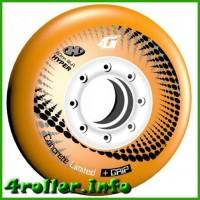 Колёса Hyper Concrete + Grip Orange